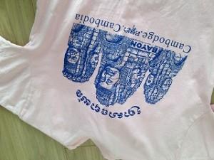 カンボジアTシャツ