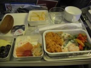 ベトナム航空機内食2