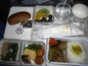 ベトナム航空機内食1